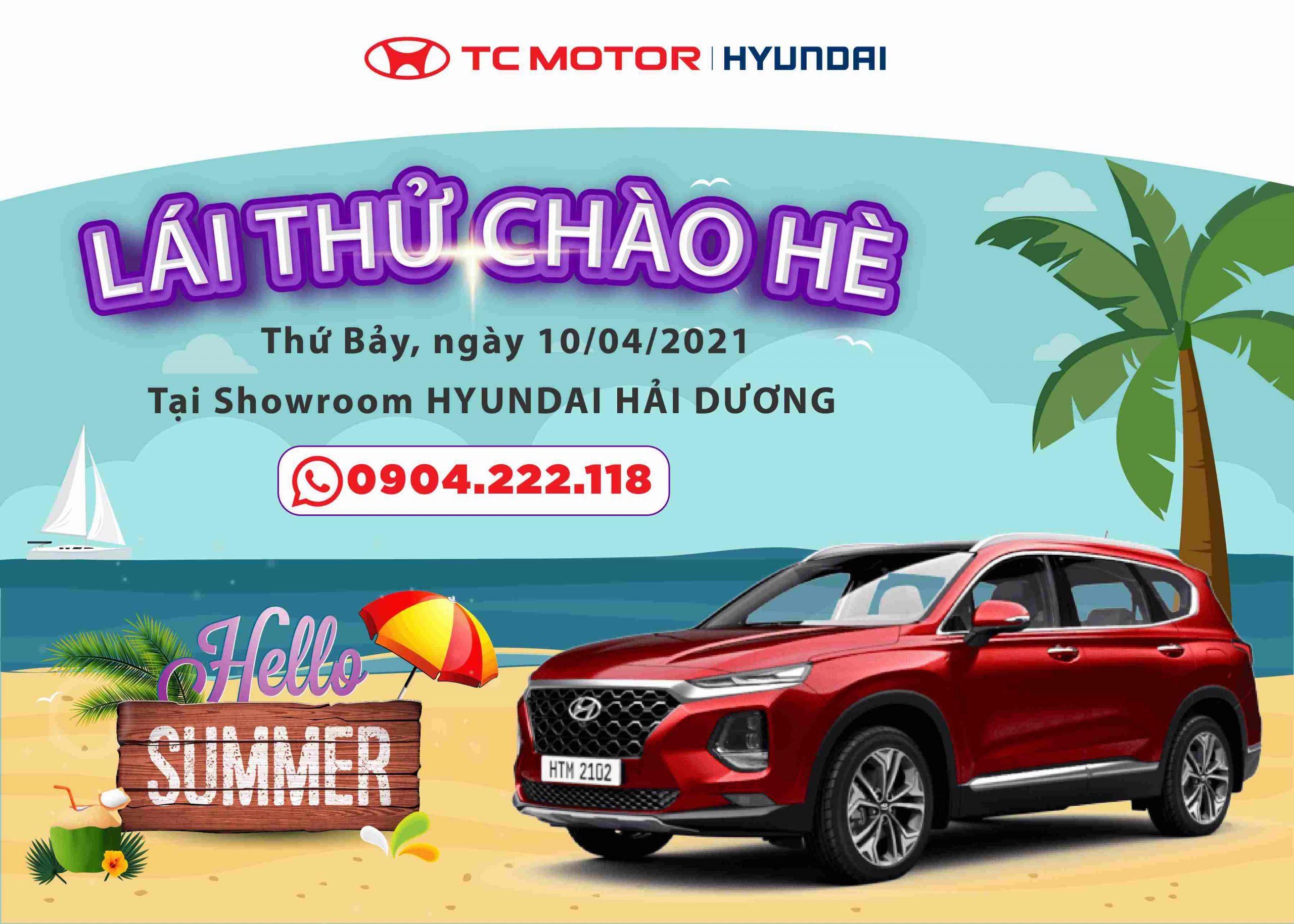 Lái thử Hyundai Hải Dương