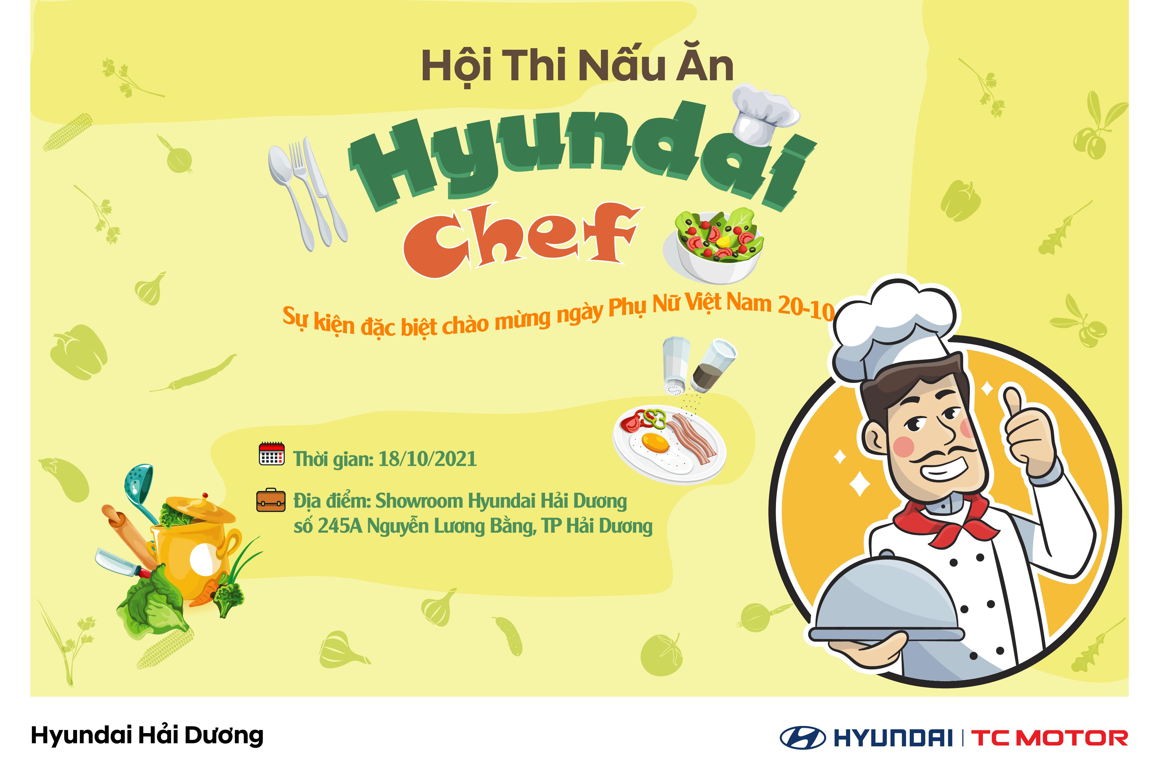"""Hội Thi Nấu Ăn """"HYUNDAI CHEF"""""""